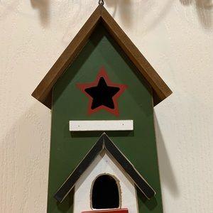 Wooden Bird House for garden decoration,